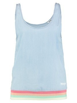 Wrangler TANK Bluzka light blue