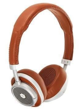 Master & Dynamic MW50 WIRELESS ONEAR Słuchawki brown/silvercoloured