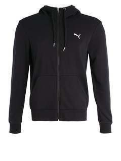 Puma Bluza rozpinana cotton black