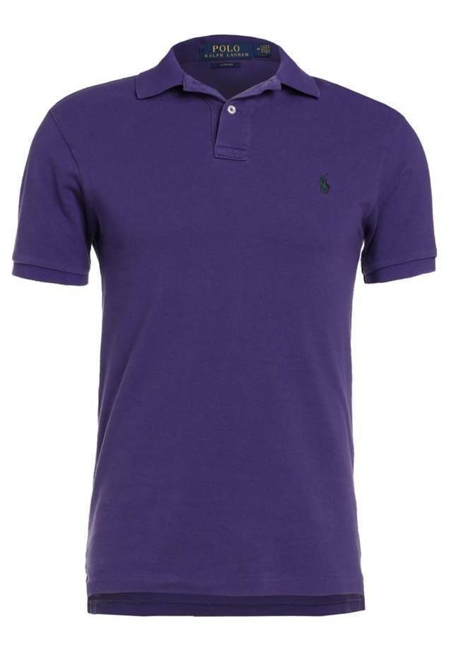 Polo Ralph Lauren SLIM FIT Koszulka polo regal purple