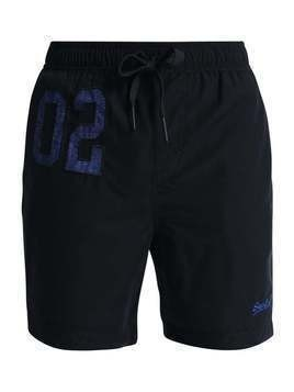 Superdry PREMIUM WATER POLO Szorty kąpielowe darkest navy