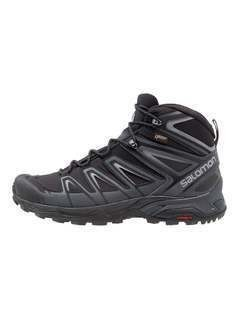 Salomon X ULTRA 3 MID GTX Buty trekkingowe black/india ink/monument