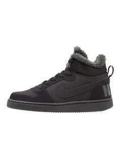 Nike Sportswear COURT BOROUGH MID WNTR GS Tenisówki i Trampki wysokie black/anthracite