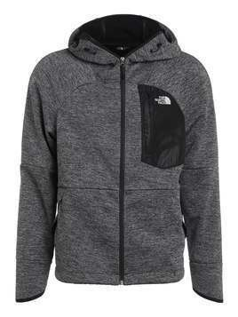The North Face WINDWALL Kurtka z polaru black heather