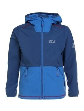 Jack Wolfskin TURBULENCE BOYS Kurtka Outdoor ocean wave