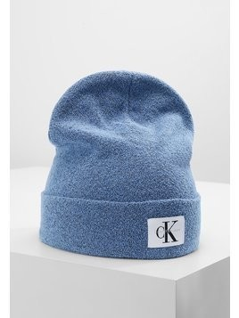 Calvin Klein Jeans RE ISSUE BEANIE Czapka denim