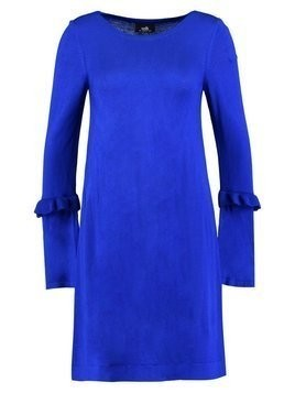 Wallis RUFFLE TRIM SLEEVE DRESS Sukienka dzianinowa cobalt