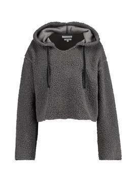 Native Youth SHERPA HOODY Bluza z kapturem grey