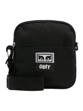 Obey Clothing DROP OUT TRAVELER Torba na ramię black