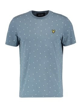 Lyle & Scott BEACHBALL Tshirt z nadrukiem blue