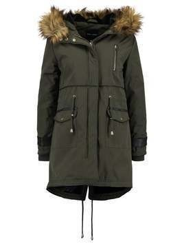 New Look CHUBBY  Parka dark khaki