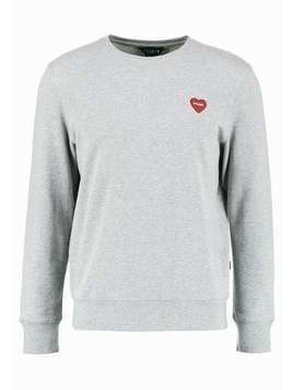 POLER FURRY HEART CREW Bluza gray heather