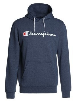 Champion HOODED Bluza z kapturem dark blue