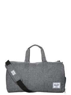 Herschel NOVEL Torba weekendowa raven crosshatch