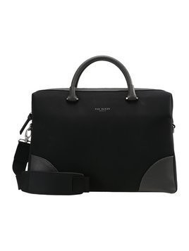 Ted Baker MATCHER NUBUCK DOCUMENT BAG Aktówka black