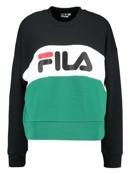 Fila CREW LEAH Bluza black/bright white/shady glade