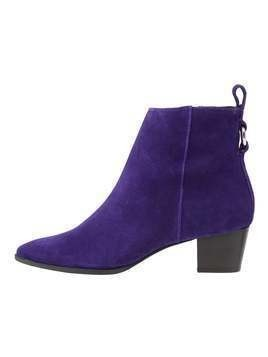 Topshop MATCHA POINTED BOOTS Botki purple