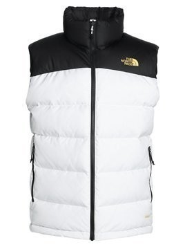 The North Face NUPTSE VEST Kamizelka white/black