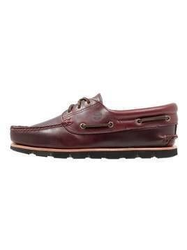 Timberland TIDELANDS 3 EYE PADDED  Buty żeglarskie redwood brando