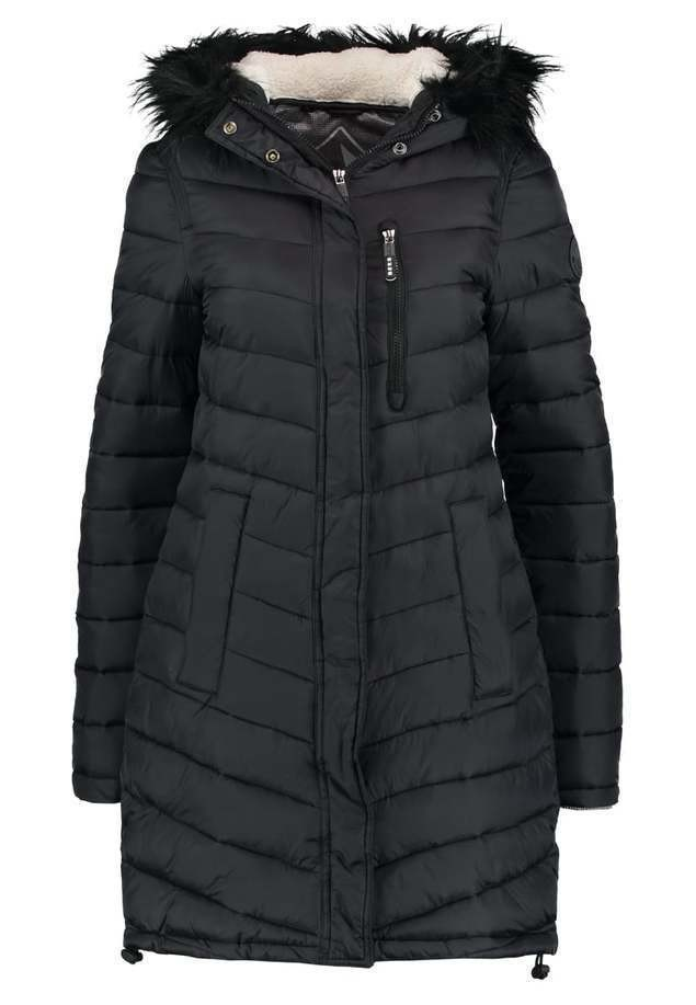 Superdry CHEVRON SUPER FUJI Parka black