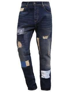 Desigual Jeansy Slim fit denim dark blue