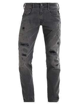 Replay ANBASS Jeansy Straight leg destroyed denim