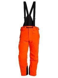 Salomon CHILL OUT BIB  Spodnie narciarskie vivid orange