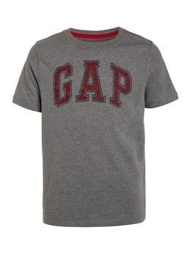 GAP NEW ARCH SCREEN  Tshirt z nadrukiem grey heather