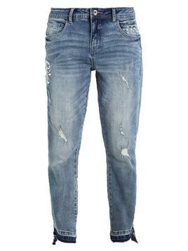 Cream CARA Jeansy Relaxed Fit medium blue denim