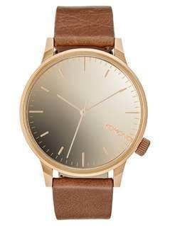Komono WINSTON Zegarek rose goldcoloured/cognac