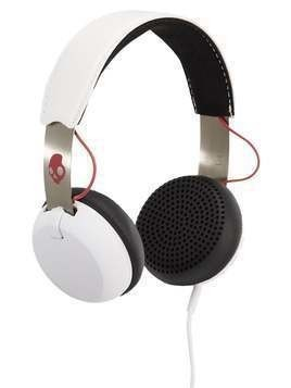 Skullcandy GRIND ONEAR WIRELESS Słuchawki white/black/red
