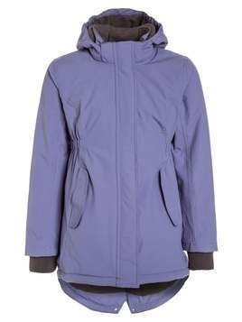 mikkline GIRLS COAT SOLID Płaszcz zimowy blue ice purple