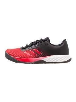 adidas Performance CRAZYFAST TRAINER Obuwie treningowe core black/scarlet/energy blue