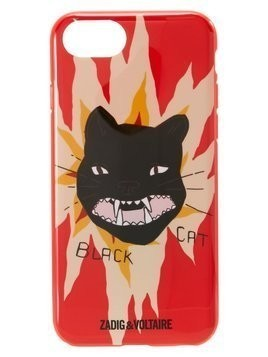 Zadig & Voltaire BLACK CAT  Etui na telefon red