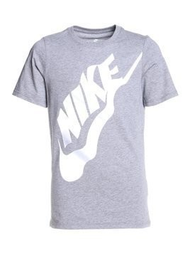 Nike Performance TEE WAVY FUTURA  Tshirt z nadrukiem carbon heather