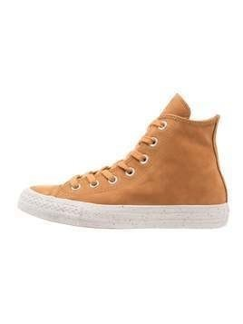 Converse CHUCK TAYLOR ALL STAR NUBUCK HI Tenisówki i Trampki wysokie raw sugar/malted/pale putty