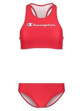 Champion HIGH NECK SET Bikini red