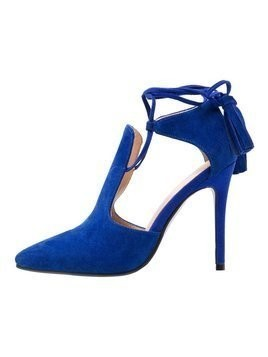 Lavish Alice POINTED STILETTO Sandały na obcasie blue