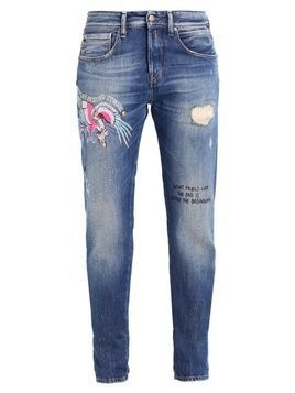Replay HETER Jeansy Relaxed fit blue denim