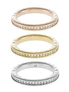 Michael Kors ICONIC 3 PACK Pierścionek goldcoloured/rose goldcoloured/silvercoloured