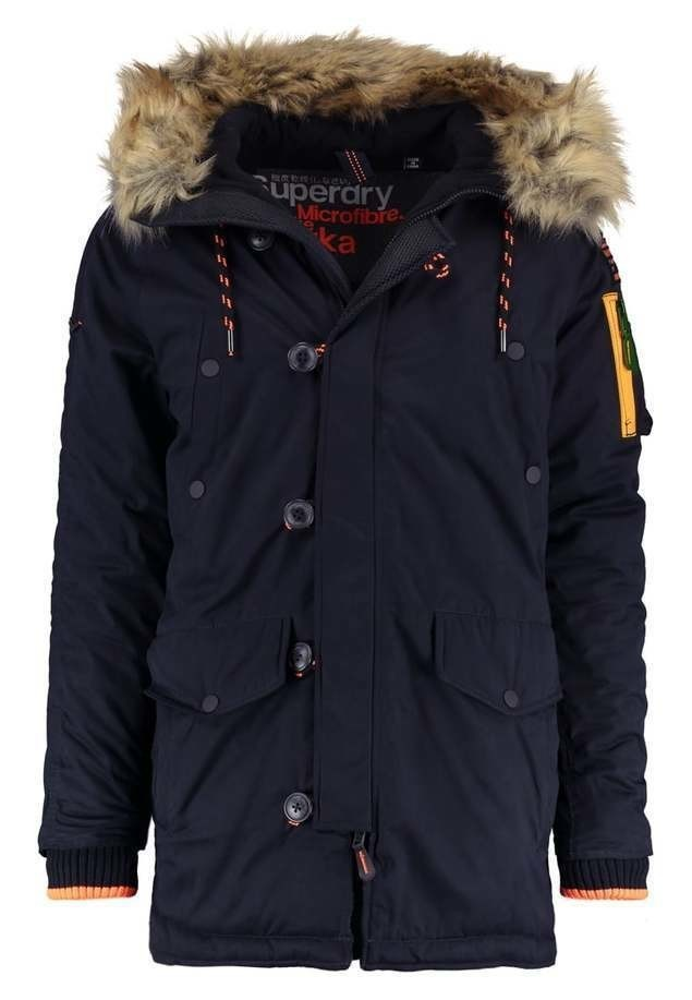 Superdry Parka super dark navy