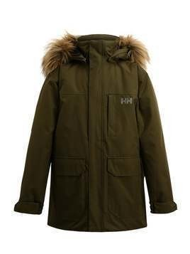 Helly Hansen JUNIOR FELIX  Parka ivy green