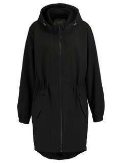 Zizzi Kurtka Outdoor black solid