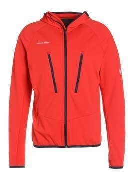 Mammut AENERGY LIGHT HOODED Kurtka z polaru spicy