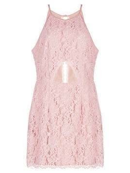 Missguided CUT OUT BODYCON Sukienka letnia pink