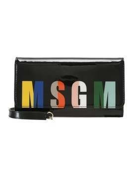 MSGM LOGO Kopertówka black/multicoloured
