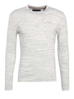 Superdry ORANGE LABEL CREW Sweter concrete grindle