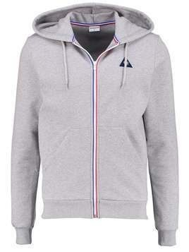 le coq sportif Bluza rozpinana light heather grey