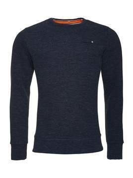 Superdry ORANGE LABEL CREW  Bluza royal blue