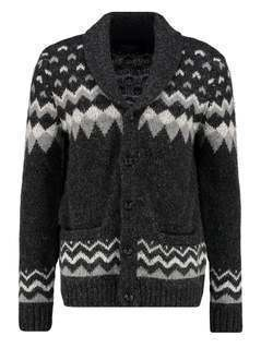 Abercrombie & Fitch Kardigan black pattern